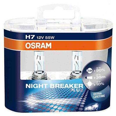لامپ h7 اسرام Night breaker